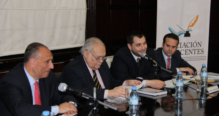 Mario Rejtman Farah, Agustín Gordillo, Enrique Alonso Regueira y Ariel Cardaci Méndez