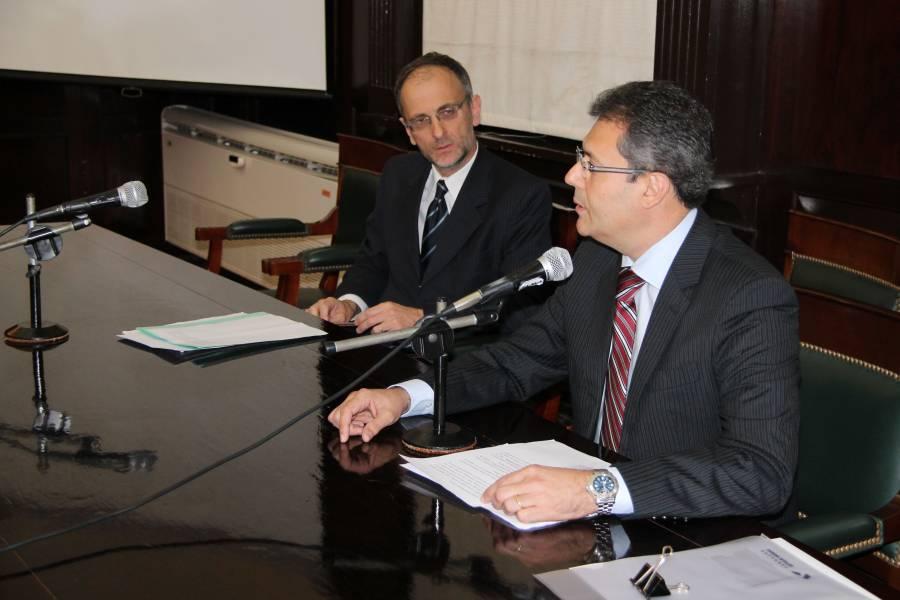 Carlos F. Balbín y Sergio Guerra