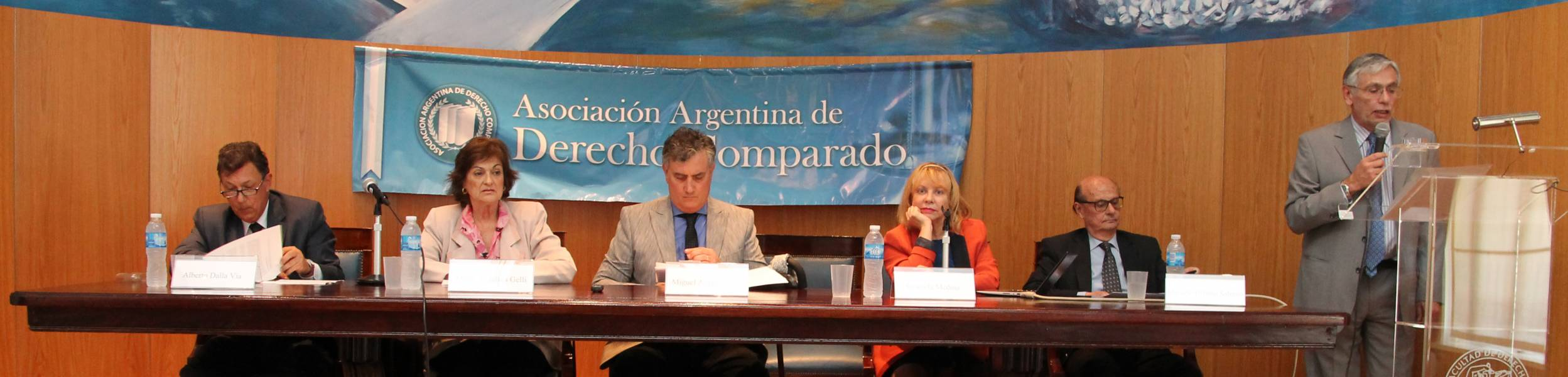 Alberto Dalla Via, María Angélica Gelli, Miguel Ángel Acosta, Graciela Medina, Marcelo Urbano Salerno y Pedro Aberastury