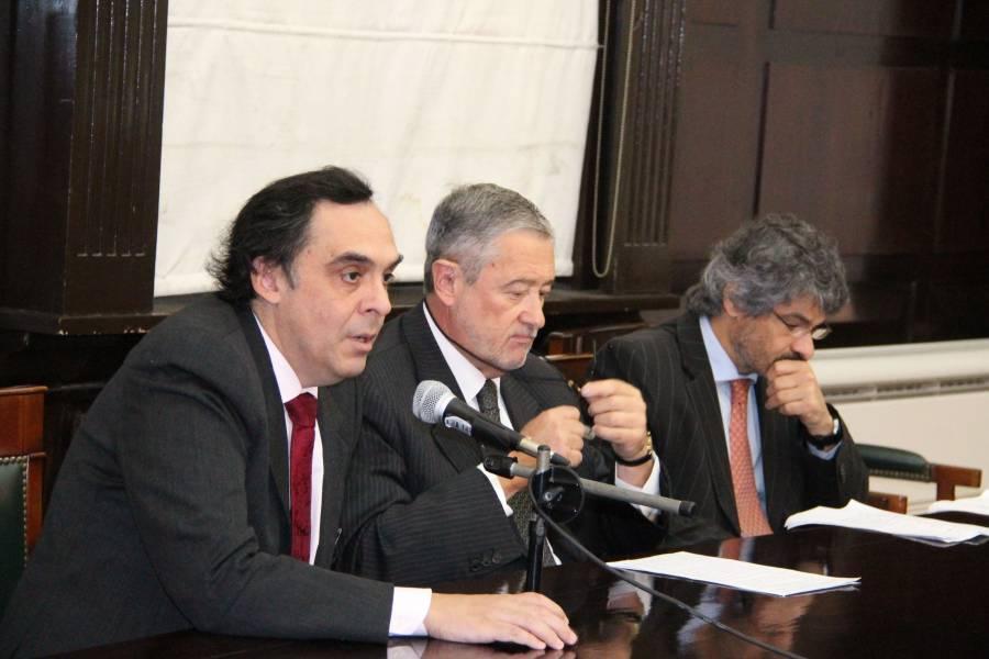 Raúl Gustavo Ferreyra, Ernesto A. Marcer y Leandro Vergara