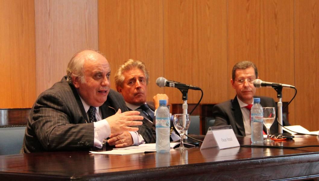 Oscar Ameal, Daniel R. Vítolo y Héctor O. Chomer