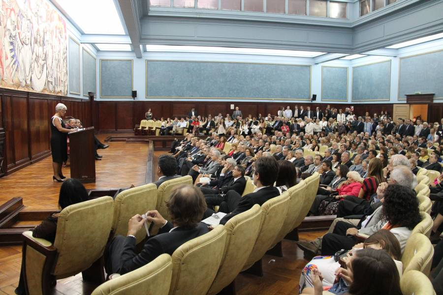 Mónica Pinto y Alberto Bueres iniciaron su segundo mandato como Decana y Vicedecano de la Facultad de Derecho