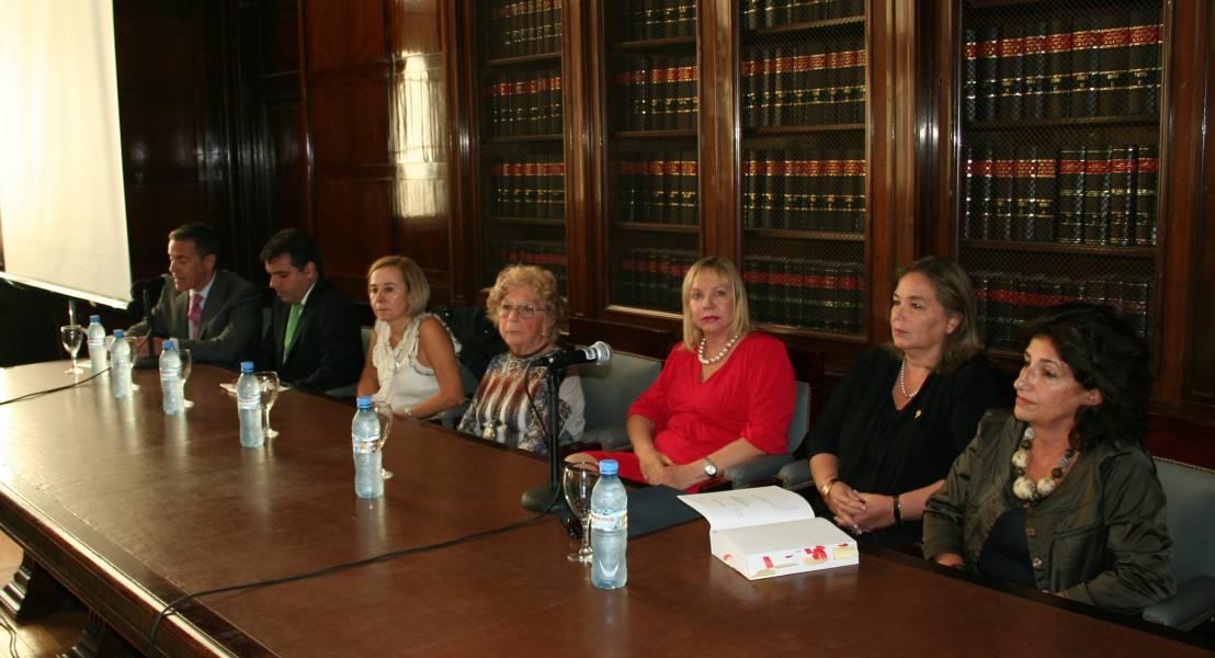 Gabriel Rolleri, Ignacio Gonzalez Magaña, Gabriela Yuba, Mabel Rivero de Arhancet, Graciela Medina, Susana Medina y Virginia Simari