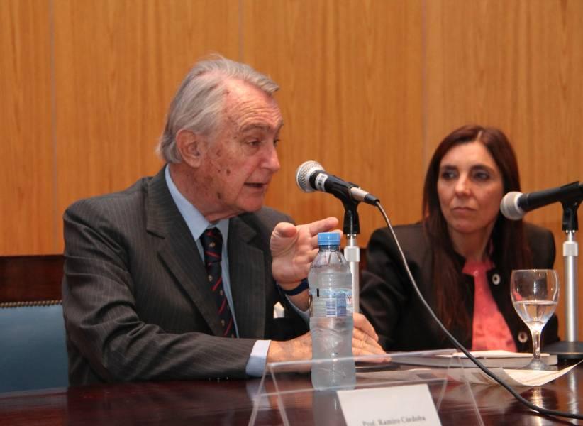 Juan Carlos Palmero y Esther Ferrer de Fernández