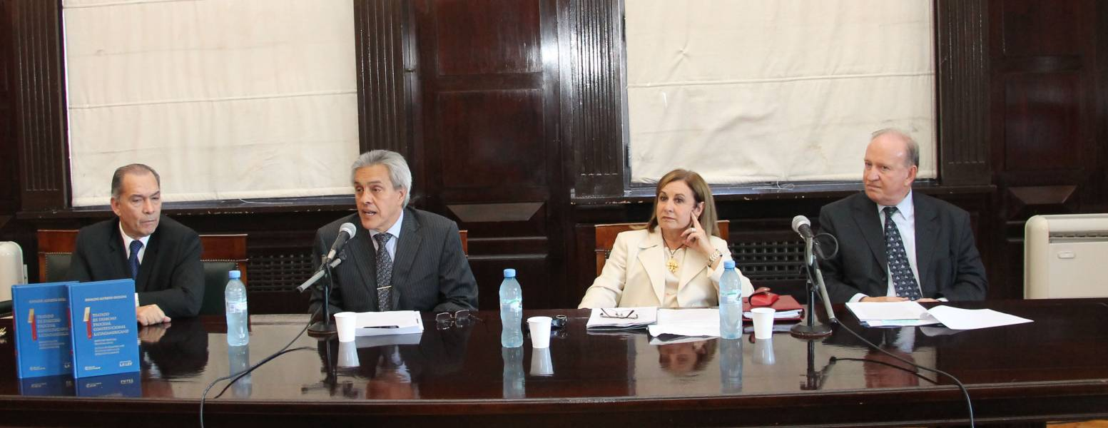 Jorge A. Amaya, Osvaldo A. Gozaíni, Adelina Loianno y Daniel Sabsay