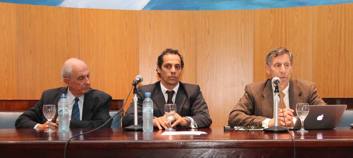 Raúl Aníbal Etcheverry, Luis Ceserani y Mark Fagan