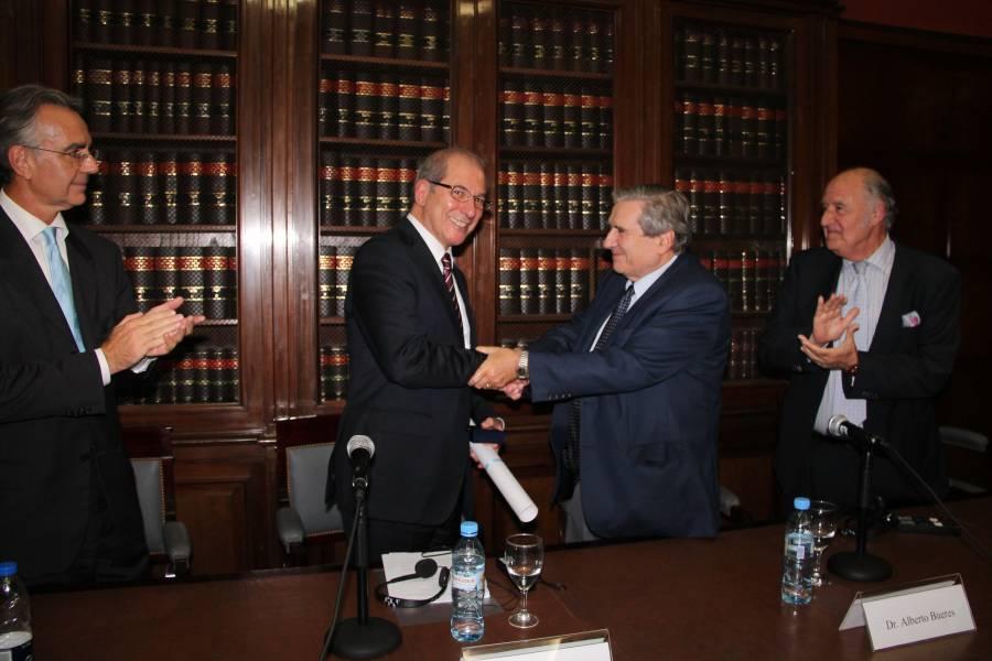 Gustavo Zlauvinen, Ahmet Üzümcü, Alberto J. Bueres y Juan Antonio Travieso