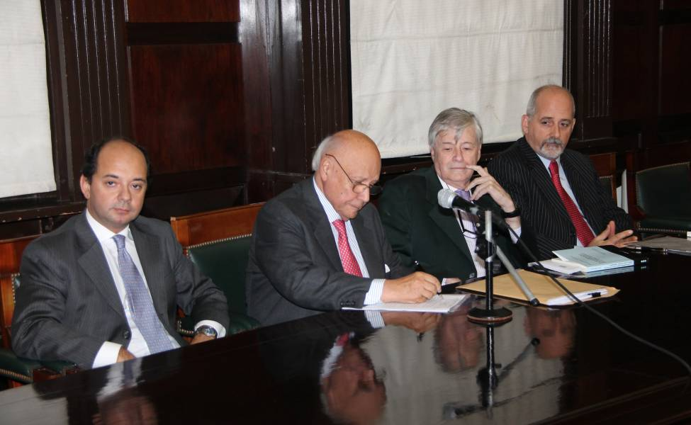Martín Galli Basualdo, Juan Carlos Cassagne, David A. Halperin y Guido S. Tawil