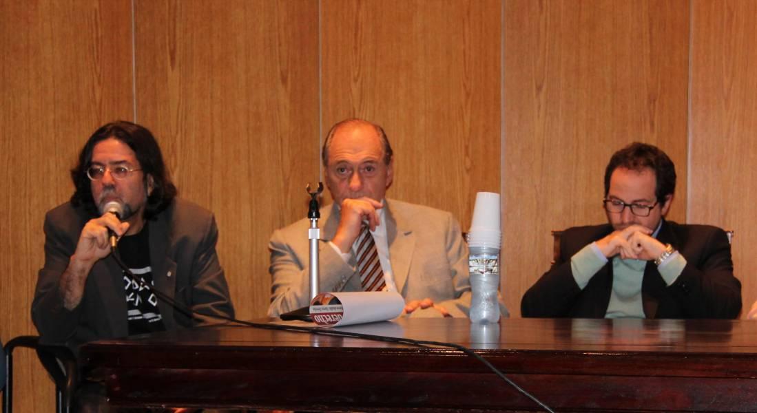 Ricardo Rabinovich-Berkman, Eugenio Raúl Zaffaroni y Luciano Hazan