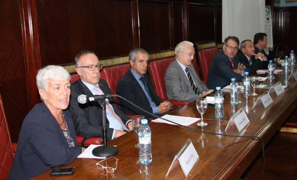 Mónica Pinto, Guillermo Nielsen, Alfonso Díez Torres, Pavel Sipka, Calogero Pizzolo, Jean-Michel Casa y Reynaldo Sietecase