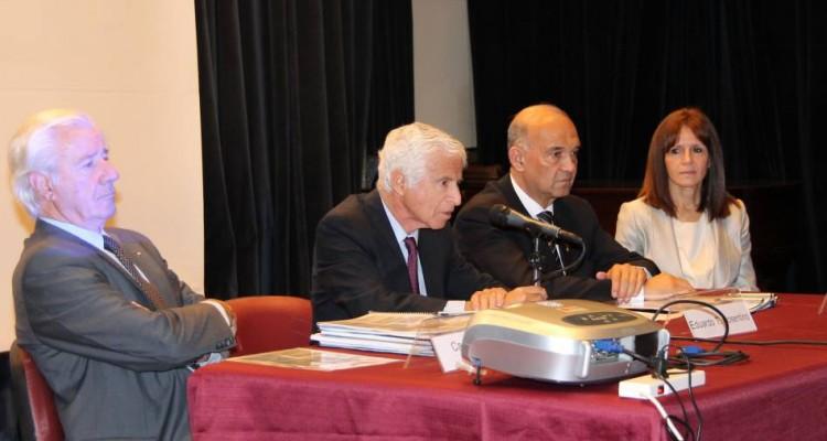 Alberto Cappagli, Eduardo T. Cosentino, Maximiliano Pozaric y Griselda Capaldo