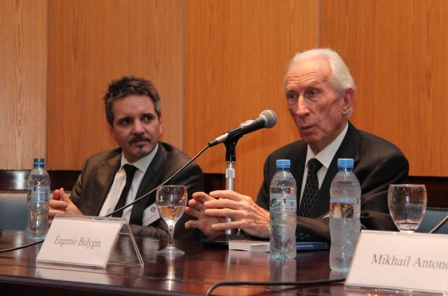 Juan Pablo Alonso y Eugenio Bulygin