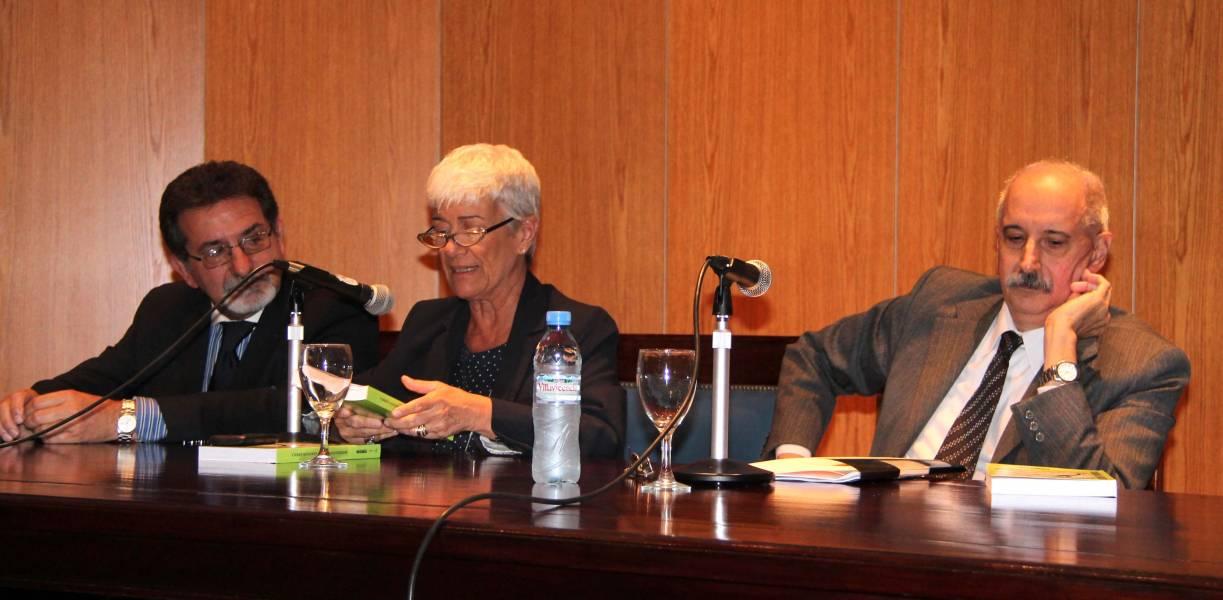 Joaquín da Rocha, Mónica Pinto y Felipe Fucito