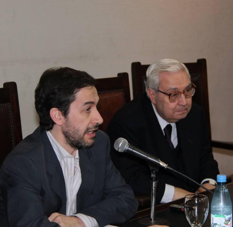 Pedro Rivas Palá y Ricardo A. Guibourg
