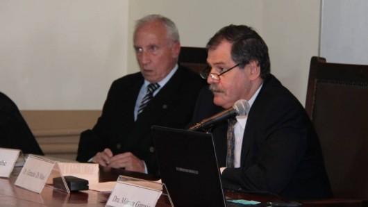 Carlos Porthe y Gerardo Di Masi