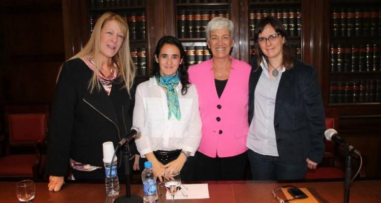Margarita Stolbizer, Natalia Gherardi, Mónica Pinto y Brenda Austin