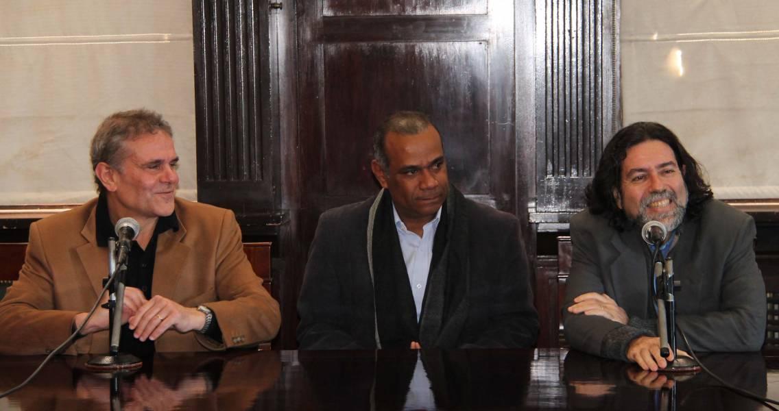 Enrique Del Percio, Miguel Ángel Contreras Natera y Ricardo Rabinovich-Berkman