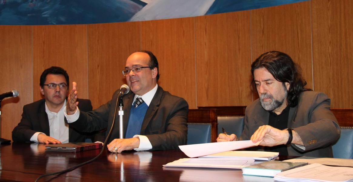 Jose Augusto Peres Filho, Bernardo Fabián Santos y Ricardo Rabinovich-Berkman