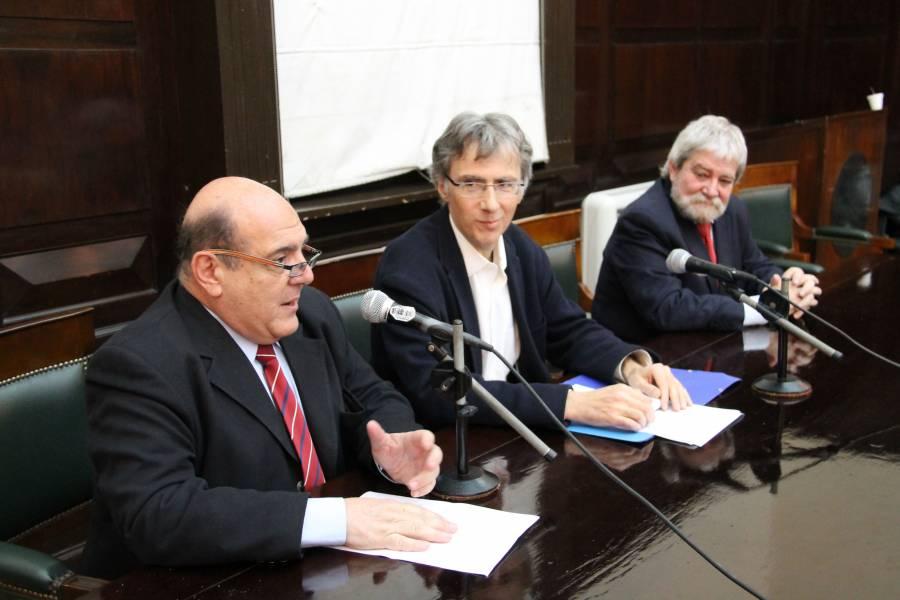Roberto Malkassian, Gérard Malkassian y Gregorio Flax