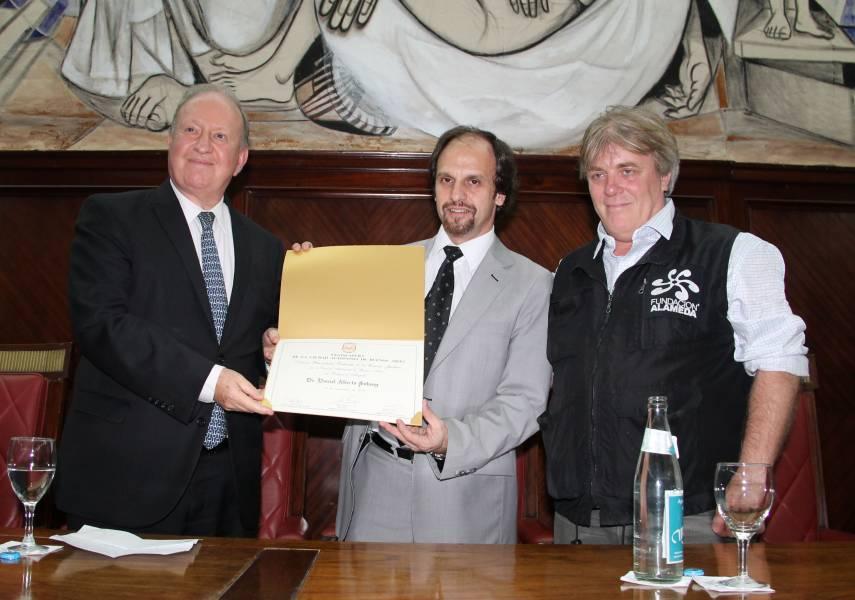 Daniel A. Sabsay, Enzo Pagani y Gustavo Vera