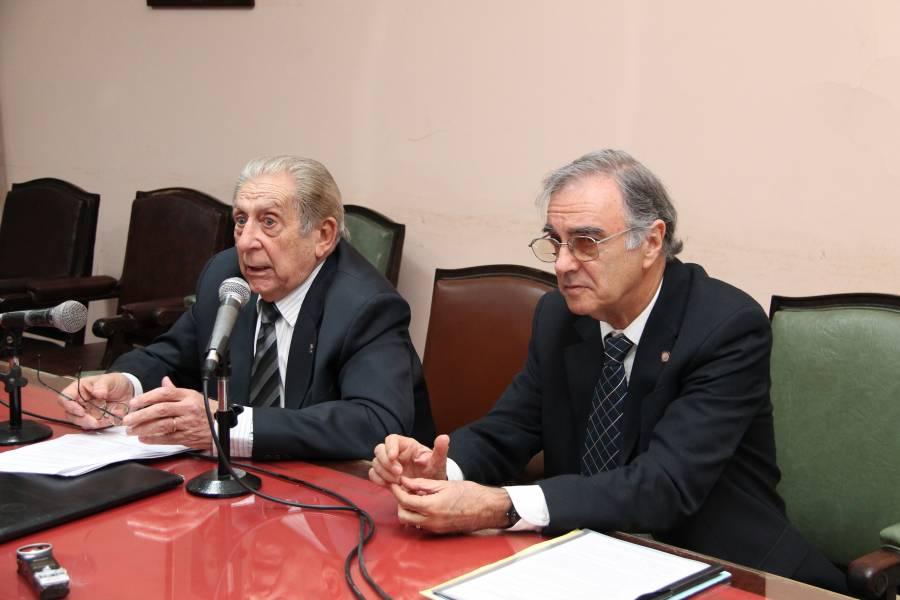 Héctor R. Sandler y Rubén Calcaterra