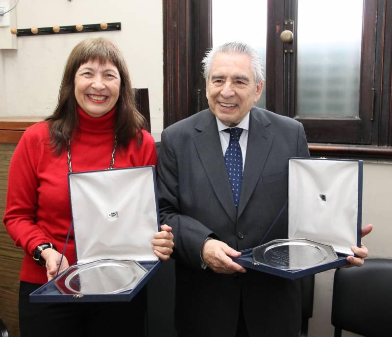Magdalena Giavarino y Juan Octavio Gauna