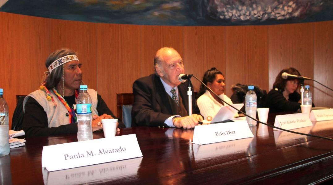 Felix Diaz, Juan Antonio Travieso, Noole Cipriana Palomo y Diana Lenton