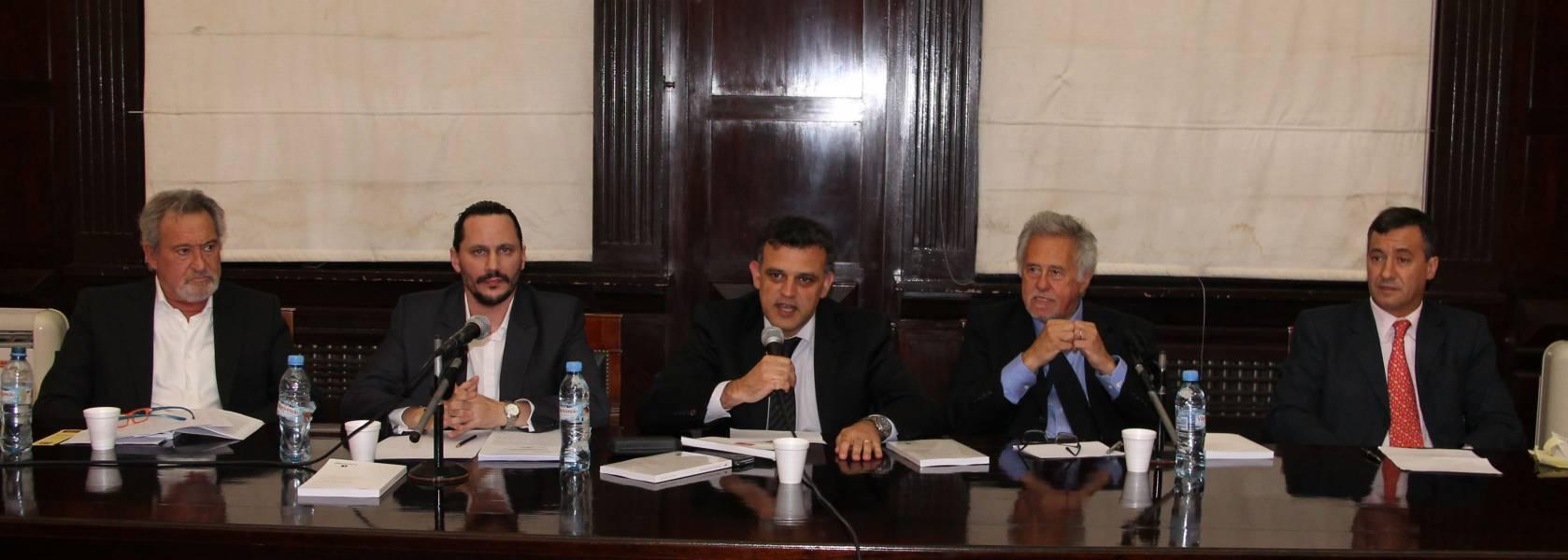 Juan Pedro Cortelezzi, Alejandro Catania, Mariano H. Silvestroni, Julio E. S. Virgolini y Daniel Pastor