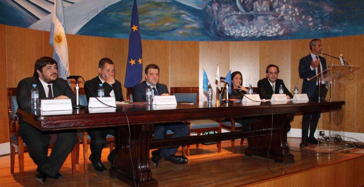 Federico Taboada, Guy Harpaz, Luiz Guilherme Arcaro Conci, Andrea Mensa González, Agustín Fabbricatore y Andrea Morrone