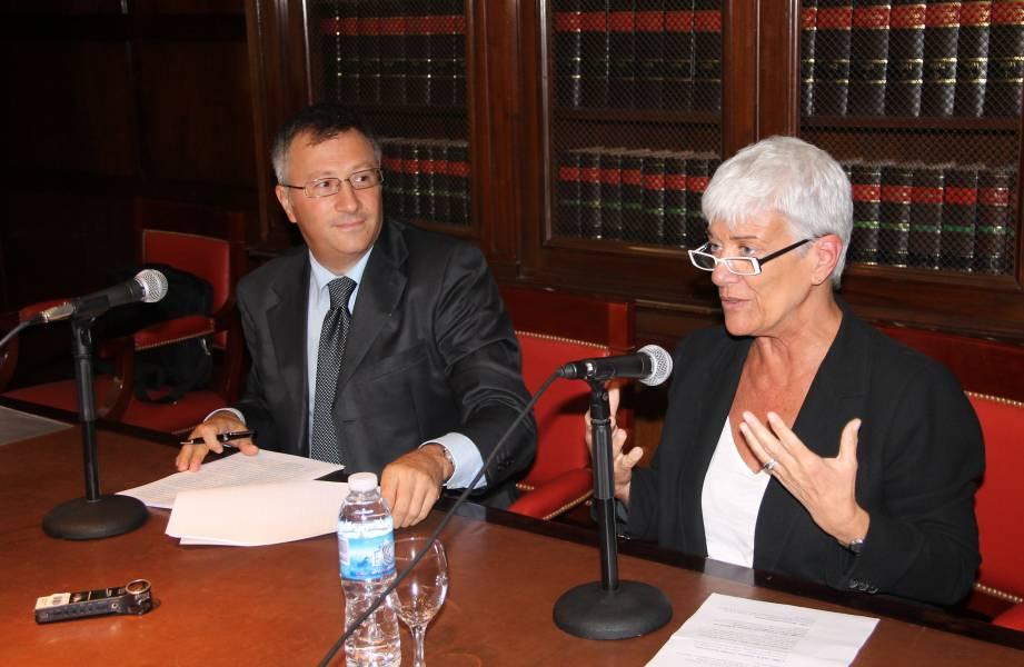Francesco Di Donato y Mónica Pinto