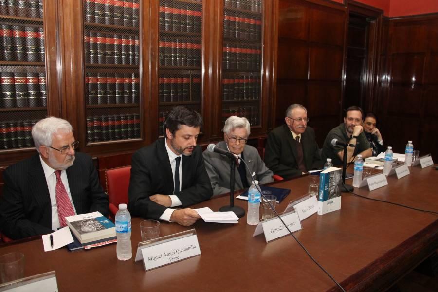 Miguel A. Quintanilla Fisac, Gonzalo Alvarez, Mario Bunge, Pablo M. Jacovkis, Javier López de Casenave y Lilian O´Connell de Alurralde