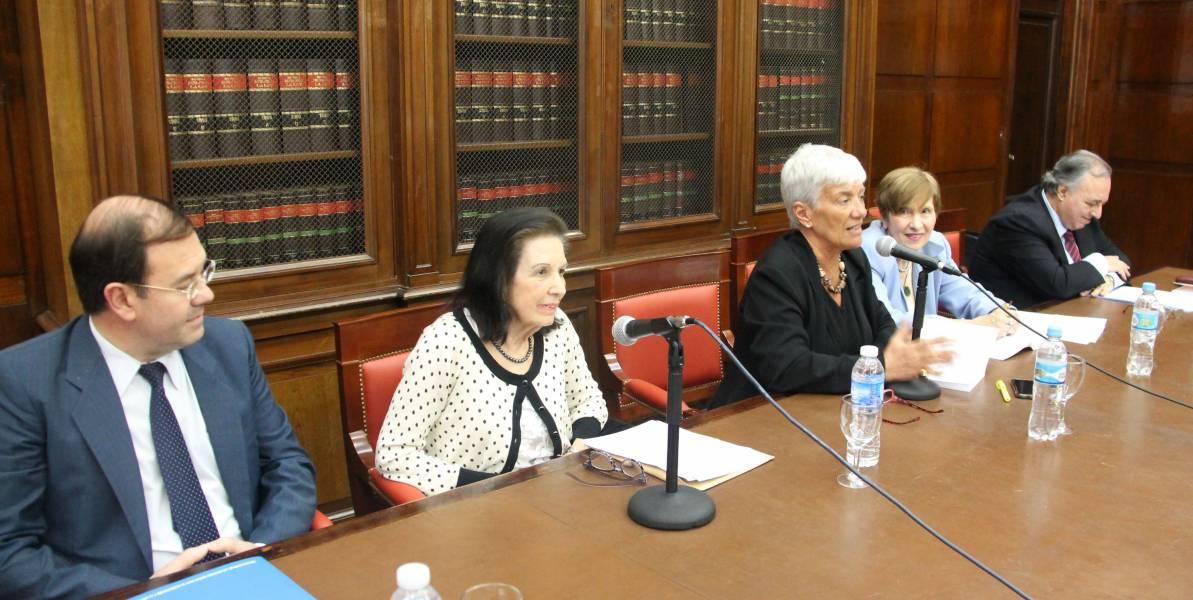 Hugo Zilocchi, Eve Rimoldi de Ladmann, Mónica Pinto, María C. Zeballos de Sisto y Omar Alvarez