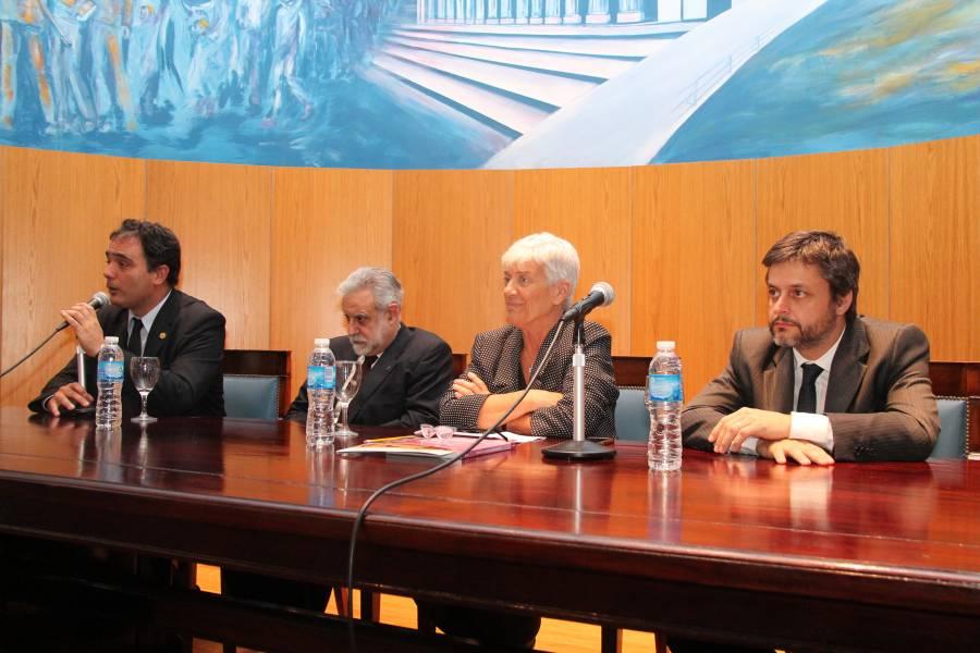 Juan Antonio Seda, Gonzalo Uriarte, Mónica Pinto y Gonzalo Alvarez