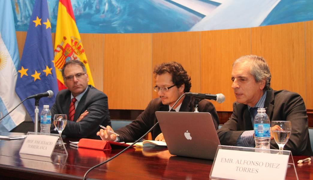 Calogero Pizzolo, José Ignacio Torreblanca y Alfonso Diez Torres