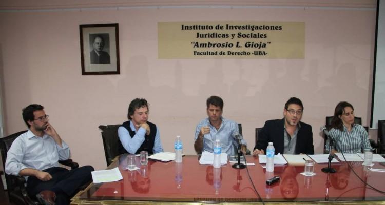 Gonzalo Penna, Roberto Gargarella, Gabriel I. Anitua, Diego Zysman Quirós y Mercedes Calzado