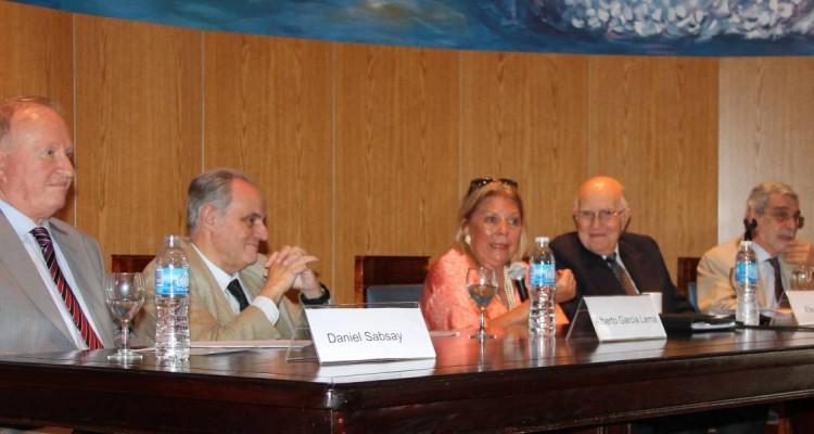 Daniel Sabsay, Alberto García Lema, Elisa Carrió, Iván José María Cullen y Enrique Paixao