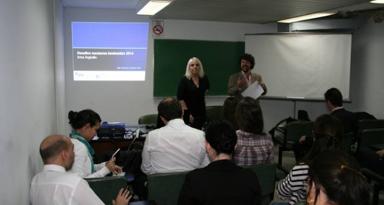 Irma Argüello y Emiliano J. Buis