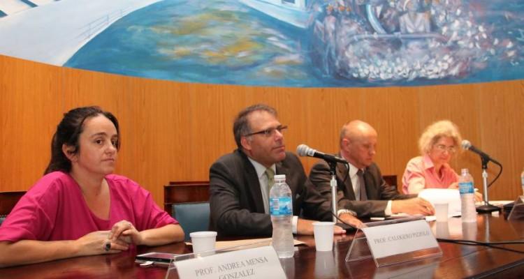 Andrea Mensa González, Calogero Pizzolo, Jukka Siukosaari y Lorenza Sebesta