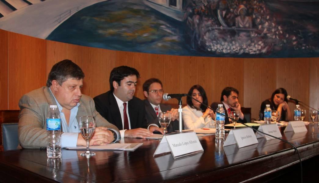 Marcelo López Alfonsín, Ignacio Barbeira, Santiago Martín, Paulina Chiacchiera Castro, Juan Zocca y Elena Gómez