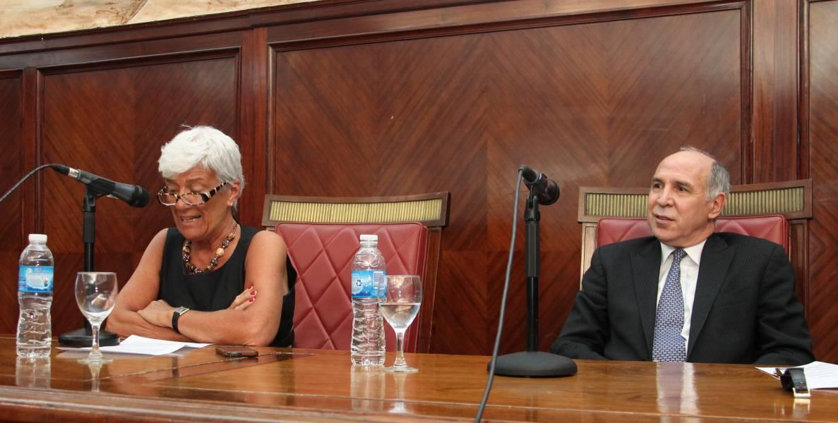 Mónica Pinto y Ricardo L. Lorenzetti