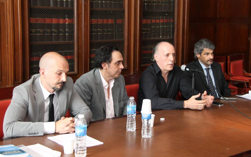 Gustavo A. Szarangowizc, Raúl Gustavo Ferreyra, Alejandro Amor y Leandro Vergara