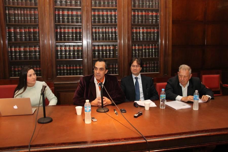 Mariana Gasbarra Daniel, Raúl Gustavo Ferreyra, José Eduardo Schuh y Julio B. J. Maier