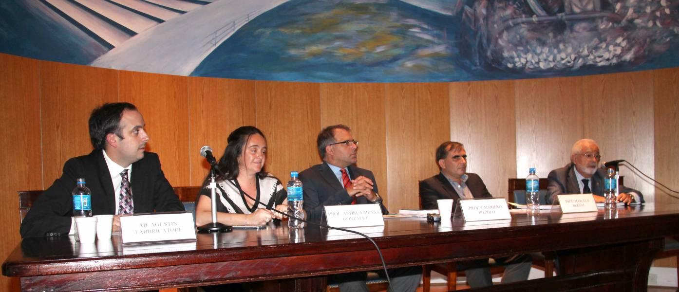 Agustín Fabbricatore, Andrea Mensa González, Calogero Pizzolo, Marcelo Bernal y Santos López Uriburu