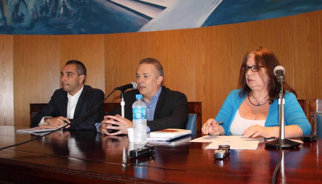 Raúl Martínez Fazzalari, Andrés Gil Domínguez y Alicia Marichelar