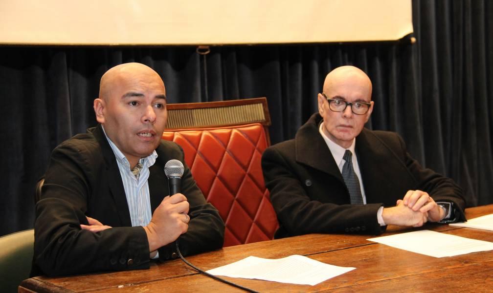 Sandro Olaza Pallero y Rubén D. Salas
