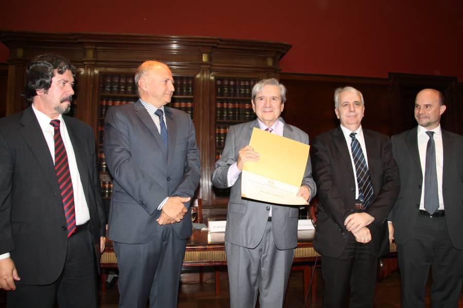 Daniel Rodríguez Masdeu, Daniel Pizarro, Alberto J. Bueres, Federico De Lorenzo y Sebastián Picasso