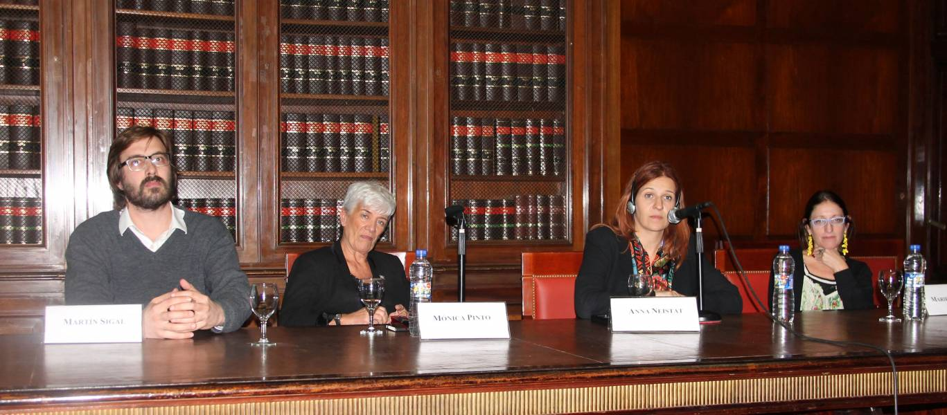 Martín Sigal, Mónica Pinto, Anna Neistat y Mariela Belski