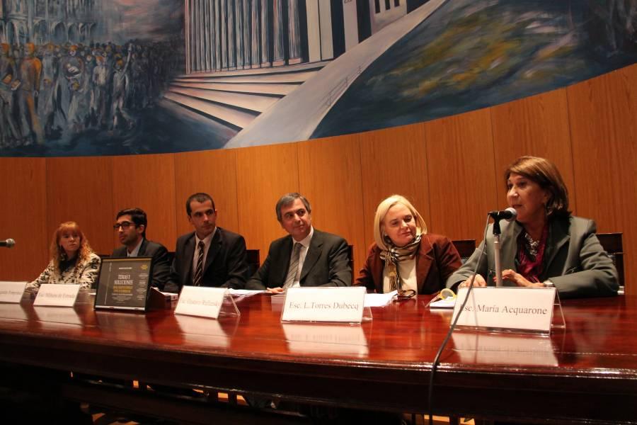 Susana Violeta Sierz, Agustín Pomponio, Bernardo Mihura de Estrada, Gustavo Rullansky, Luciana Torres Dubecq y María Acquarone