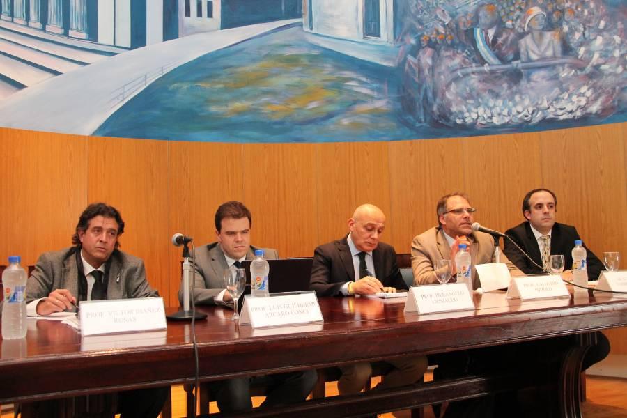 Víctor Ibañez Rosaz, Luis Guilherme Arcaro Conci, Pierangelo Grimaudo, Calogero Pizzolo y Agustín Fabbricatore