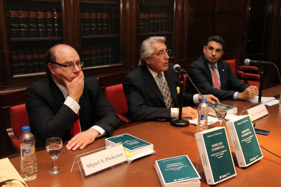Miguel Alberto Piedecasas, Daniel R. Vítolo y Alejandro Gómez